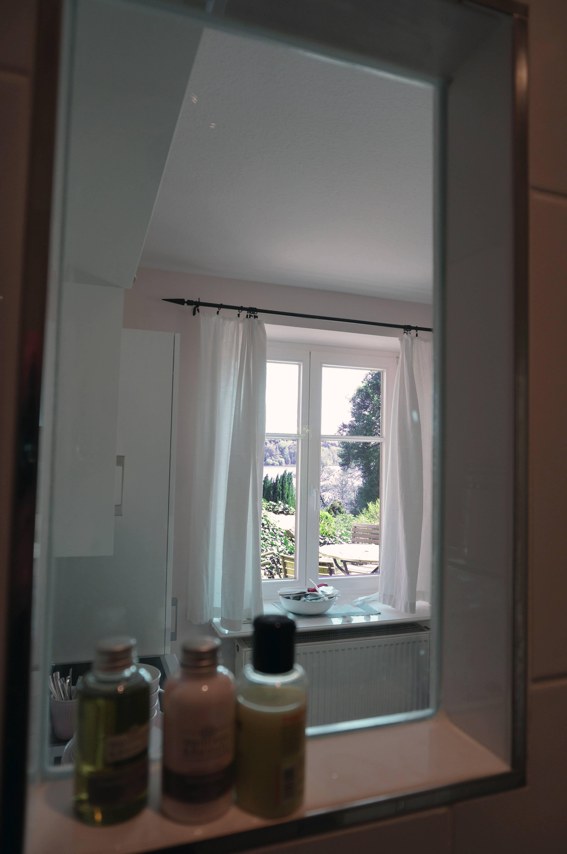 Fensterblick aus der Dusche